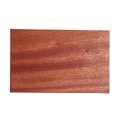 Cooking Sapele Wood Cutting Board Solid Wood Home Kitchen Cutting Board,Son Gifts for Parents,Wedding Gifts,Housewarming Gifts,Kitchen Decor(Mahogany,6x9 in)
