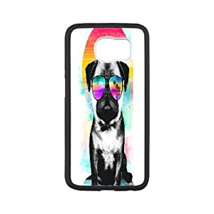 Samsung Galaxy S6 Cell Phone Case White Summer Pug DBD Phone Case DIY Personalized