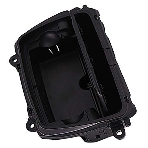 CUHAWUDBA Neue Schwarze Kunststoff Mittel Konsole Aschenbecher Montage Box Fit f/ür 5 Serie F10 F11 F18 51169206347