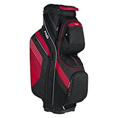 Streamlined and low-profile while remaining incredibly protective, the PING Traverse cart bag is sure to make your afternoon round a little more enjoyable. The 14-way top features air mesh cushioned dividers to help reduce Club clatter when o...