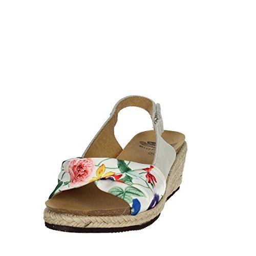 Zeppa Sandalo Mindy Corda SCHOLL Flower DR Tessuto 60 qaUzXxwwEv