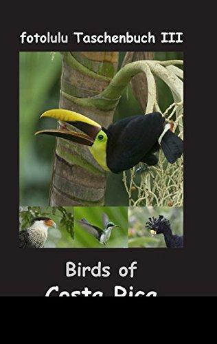 Birds of Costa Rica: fotolulu Taschenbuch III