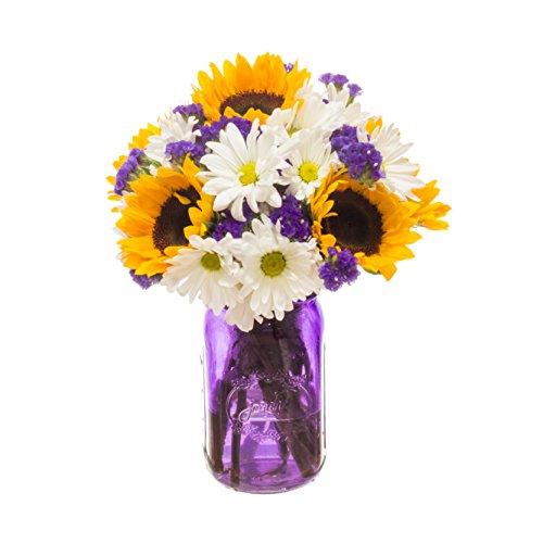 eFlowy Greatfull Floral Vase Arrangement by eFlowy