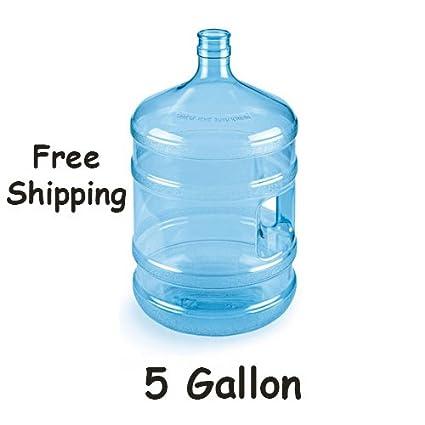 5 gallon 18,9 L botella de agua recipiente de plástico enfriador dispensador UK