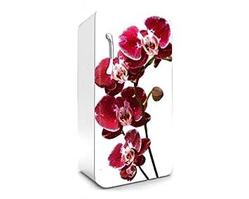 Kühlschrank Dekorfolie : Kühlschrank aufkleber orchidee cm stickers fototapete