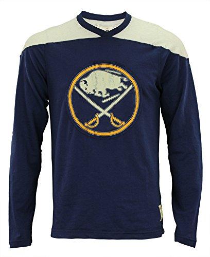 CCM NHL Men's Buffalo Sabres Crew Sweater, - Ccm T-shirts Hockey