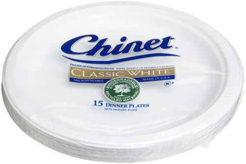 Chinet Classic White Dinner Plates (10.375-Inch) 15-Count Plates (Pack of 6) - Buy Online in UAE. | Health and Beauty Products in the UAE - See Prices ...  sc 1 st  Desertcart : chinet dinner plates - Pezcame.Com