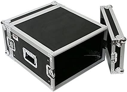 "Storage in Lids OSP 6 Space 10/"" Deep Effects ATA Flight Rack Road Case"