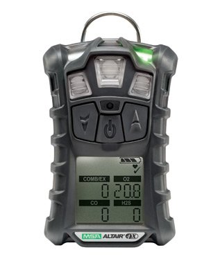 Msa Altair 4X Multigas Detector 10107602 For Lel  Oxygen  Hydrogen Sulfide And Carbon Monoxide With Motion Alert