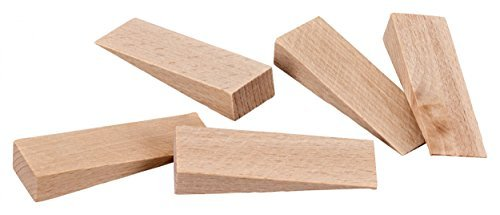 peha? Wood Wedges / Wheel Chocks, Natural Beech, 65 x 20 ...