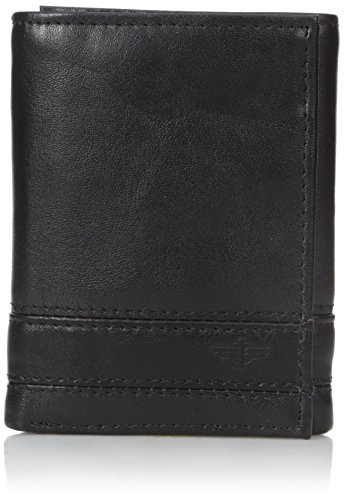 dockers-mens-trifold-wallet-with-stitch-detailing-black-one-size