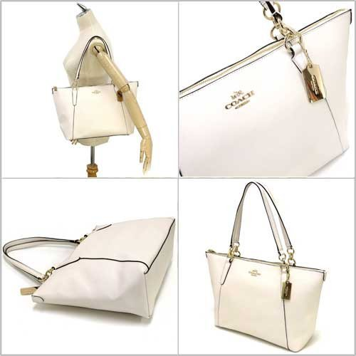 Coach Crossgrain Leather Ava Tote by Coach (Image #4)