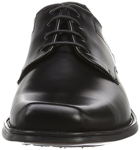Lloyd de Croyal para Derby Cordones Ftwwht Ngtmet Rojo Zapatos Hombre Dwaine r7xPTr
