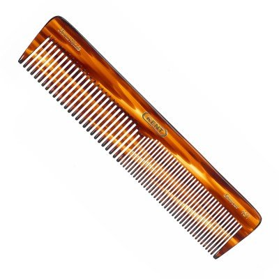 Kent 16T 7'' 185mm Hand Made Comb Coarse/Fine for Men, 1 Ounce (6 PACK) by KENT