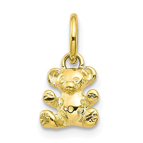 Jewelry Pendants & Charms Themed Charms 10k TEDDY BEAR CHARM
