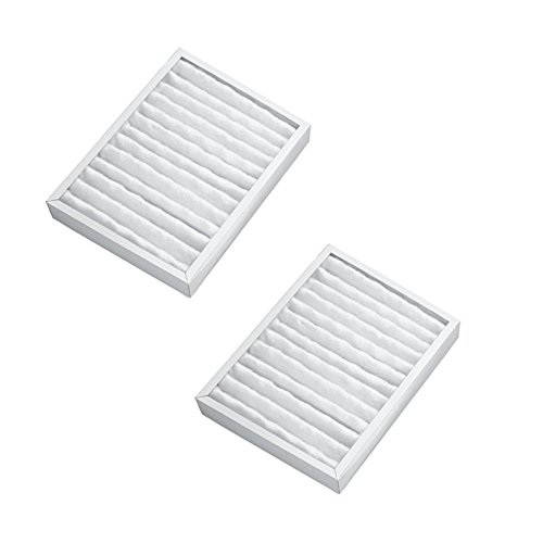 HQRP 2-pack Air Cleaner Filter for Hunter HEPAtech 30060, 30061, 30126, 30128, 30135 Air Purifiers + HQRP (Hunter Hepatech System Replacement Filter)