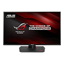 "Asus Rog Swift PG279Q 27"" 2560x1440 IPS 165Hz 4ms G-Sync Eye Care Gaming Monitor with DP and HDMI Ports, Black"