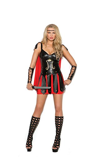 Elegant Moments EM-99060 Sultry Spartan - 2 pc. costume M / Black/Red