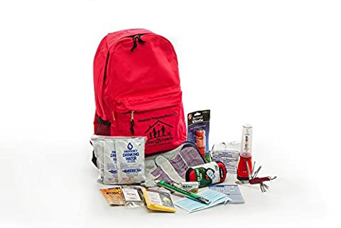 1 Person Deluxe Disaster Preparedness Kit (72 Hours of Supplies) - 3 Day Emergency Survival Kit