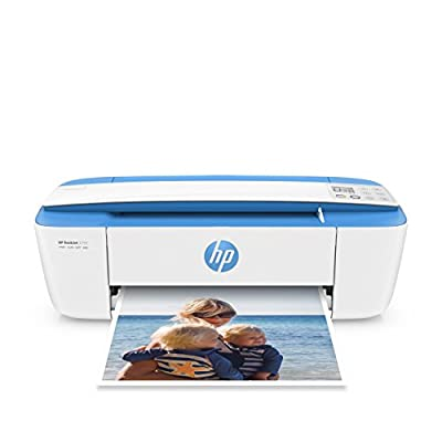HP DeskJet 3755 Compact All-in-One Photo Printer with Wireless & Mobile Printing, Instant Ink ready - Stone Accent (J9V91A)