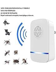 AOTUO ultrasonido ratón de Plaga Ratones Rata araña lagartos Repelente de Insectos Plaga roedor UK Enchufe