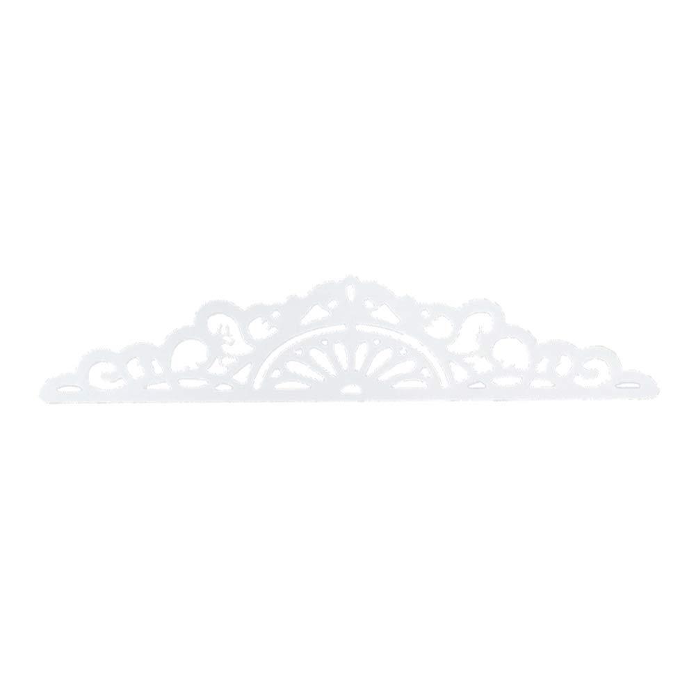 borde de flor bricolaje plantilla tarjetas de papel para /álbumes de recortes troqueles de corte de metal color plateado Troqueles de corte de metal para /álbumes de recortes