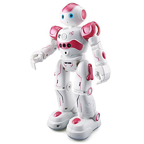 BTG R2 Cady-Wida Cady-Wini Intelligent Gesture Sensor Control RC Robot for Entertainment - Walks in All Direction, Slides, Turns Around, Dances - Toy for Boys/Girls RED All Robots