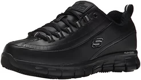 Skechers for Work Women's Sure Track Trickel Slip Resistant Shoe
