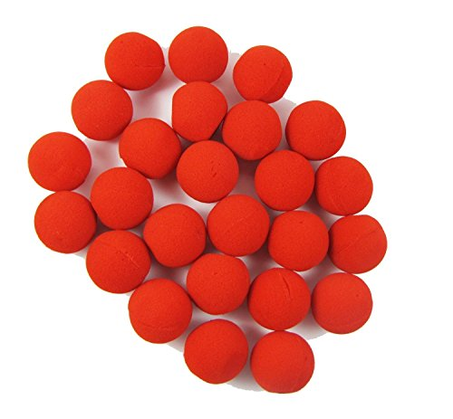 LefRight TM 100pcs Foam Red Clown Nose Circus Wedding Party Halloween Carnival Costume Activity for $<!--$16.99-->