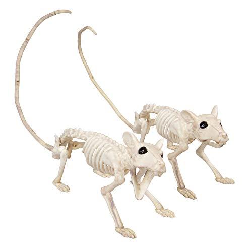 SCS Direct Halloween Skeleton Rat Decorations 15