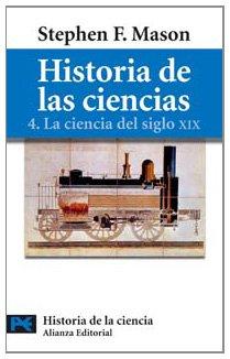 Descargar Libro Historia De Las Ciencias, 4: La Ciencia Del Siglo Xix Stephen F. Mason
