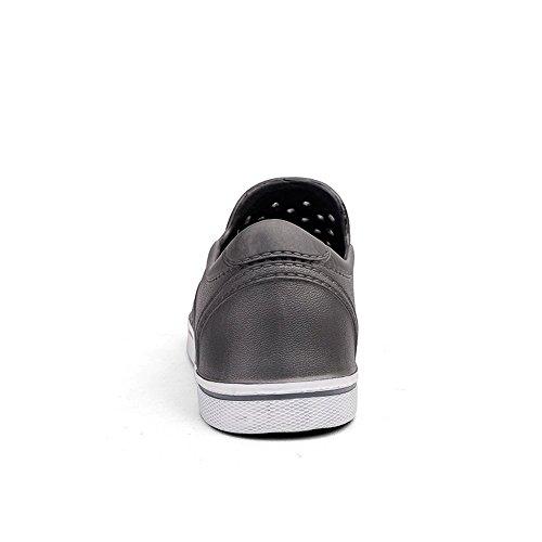 da Scarpe tacco moda uomo Xujw Comodo tempo shoes piccolo leggero morbido per Sandali il Uomo piatto e Grigio 2018 Sandalo libero alla spiaggia Sandali da Slip On resistente Vamp moda qw0qtzxZY