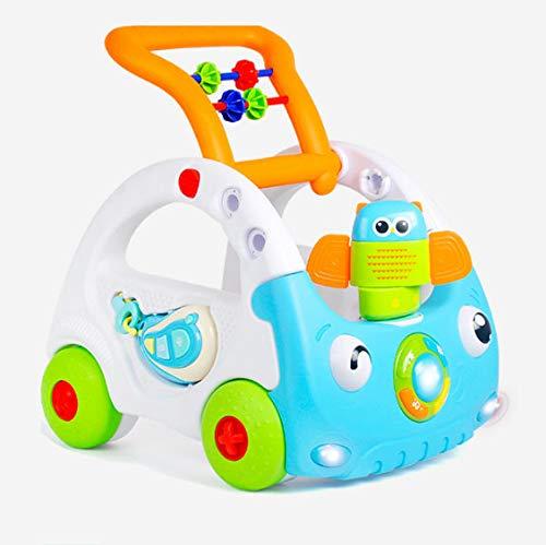 ウォーカー幼児ベビーカースリーインワン多機能リモートコントロール調整可能な高さ早期教育赤ちゃん子供 38.5 * 41 * 46Cm   B07H5GVJXP