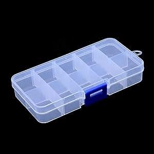 Amazon.com: NBEADS 10 piezas de plástico joyería organizador ...