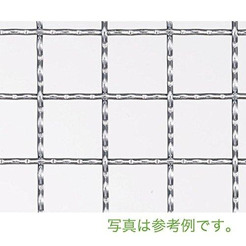 【北海道発送不可】 亜鉛クリンプ 金網 線径 #10(3.2mm) 網目 30 mm 幅 910 mm × 長さ(巻き) 15 m 吉田隆【代不】 B01EL3OPLQ