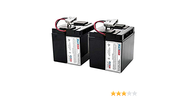 APC Smart-UPS VS 420VA SUVS420I Compatible Replacement Battery by UPSBatteryCenter