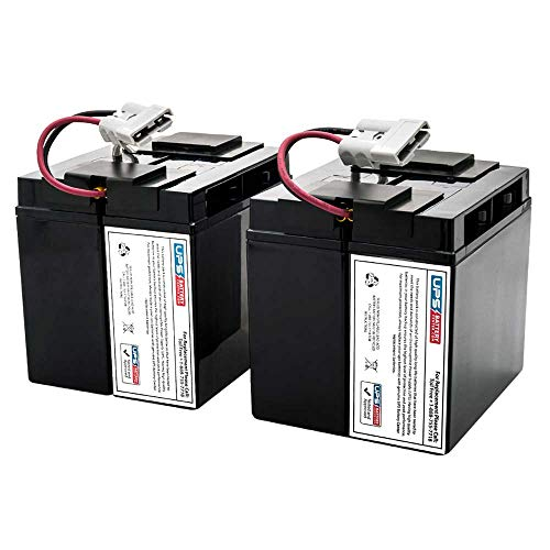 APC Smart UPS 2200 SUA2200 Compatible Replacement Battery Set by UPSBatteryCenter