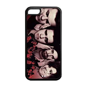 Panic At The Disco Durable TPU Protective Case For Apple iphone 4s (Black, White)