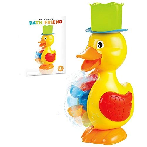 king of toys Yellow Duck Bath Toy for Toddler and Baby, Fun Water toy
