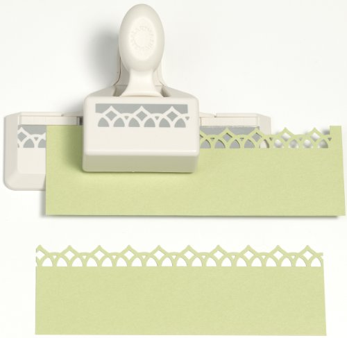 Garden Pattern Paper (Martha Stewart Crafts Edge Punch, Garden Rail)