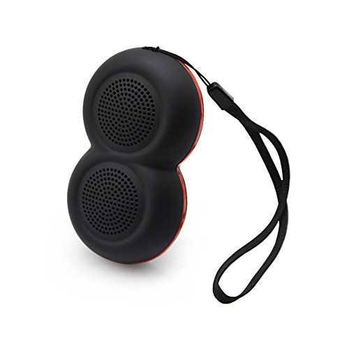 Portable Bluetooth Speaker - PerryLee Mini Outdoor Wireless Selfie Speaker Baby Child Speaker Support TF Card,Superior Sound and Build-in Mic Hands-Free Calls for Climbing Running Hiking Traveling