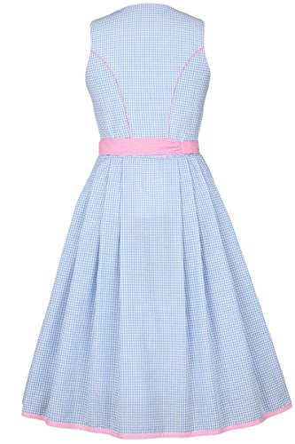 Bergweiss Damen Dirndl kurz Pastellfarben blau rosa, Blau,: Amazon.de:  Bekleidung
