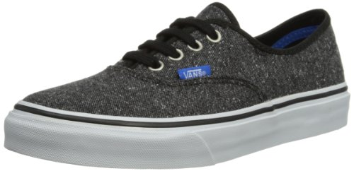 Vans Authentic, Zapatillas Unisex Bebé Negro (Checkerboard sde)