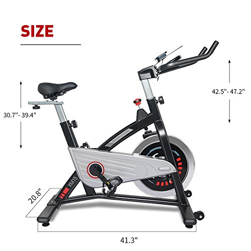 JOROTO Magnetic Resistance Exercise Bike Stationary Belt Drive Indoor Cycling Bikes Trainer Workout Cycle for Home 9