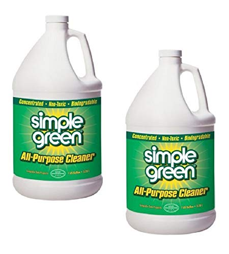 PACK OF 2 - Simple Green All-Purpose Cleaner Concentrate, 1 Gal (Best Green All Purpose Cleaner)