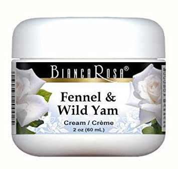 Fennel and Wild Yam Combination Cream (2 oz, ZIN: 513418) Tightening & Firming Neck Cream - 2 oz by Life Extension