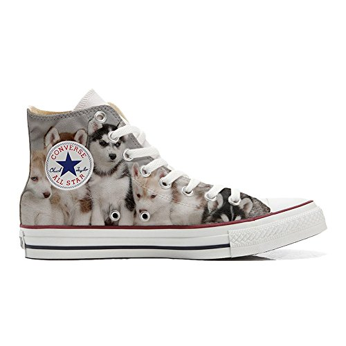 All Converse Star Schuhe Handwerk personalisierte Customized Hi Puppies Husk Schuhe qwSw7Bd
