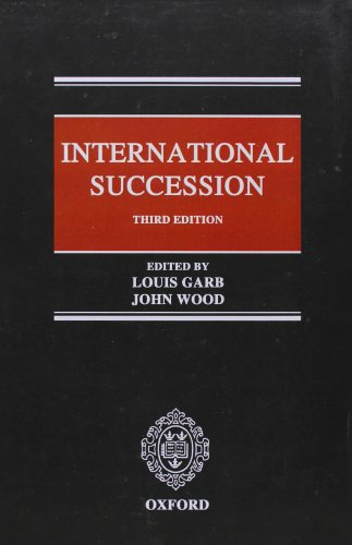 International Succession by Oxford University Press