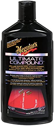 Meguiar's Ultimate Compound - Oxidation, Swirl Marks, Water Spots and Scratches Remover - G17