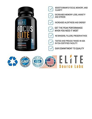 Amazon.com: Vitaminas Para El Cerebro - Mejor Nootrópico - Memoria, Atención Y Concentración - 60 Cápsulas: Health & Personal Care